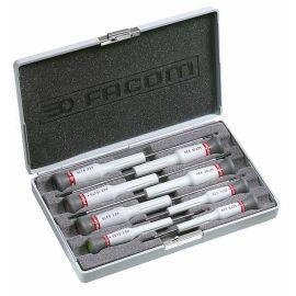 Coffret de 8 tournevis micro-tech® Torx® Facom AEX.J2 pas cher
