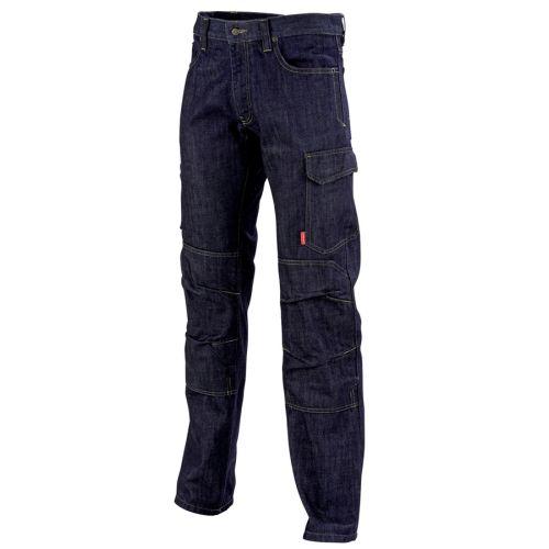 Pantalon de travail homme en jean ALICKI bleu marine taille 40 - LAFONT - LA-1STNJN-6-1-40 pas cher