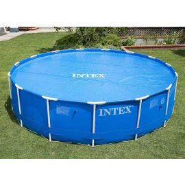 Bâche à bulles bleue 290 x 290 x 1 cm - INTEX - 29021 pas cher