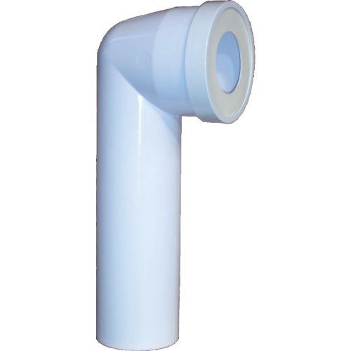 Pipe longue coudée recoupable 100 mm - REGIPLAST - PL35 pas cher Principale L
