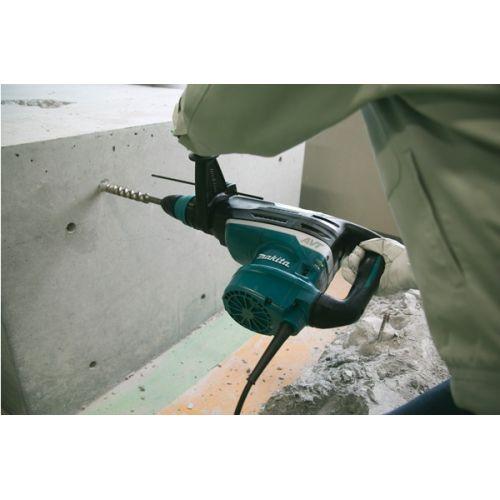 Perforateur SDS-Max 1510 W (machine seule) en coffret standard - MAKITA -  HR5212C pas cher Secondaire 1 L