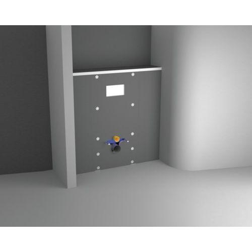 Habillage universel Lazer Panodur Easy Bati Technic pour WC bâti support photo du produit