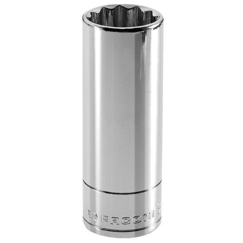 Douille 1/2'' longue 12 pans métriques 15mm longueur 77mm - FACOM - S.15LA pas cher