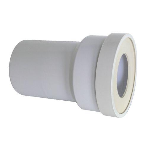 Pipe droite WC mâle sortie droite D.100 x L 180 mm - REGIPLAST - MA pas cher