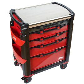 Servante grand volume 41 - Nouvelle génération - 5 tiroirs Sam Outillage 415HZ photo du produit