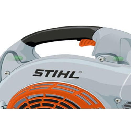Souffleur à main thermique avec Ergostart (E) SH 86 C-E - STIHL - 4241-011-0933 pas cher Secondaire 1 L