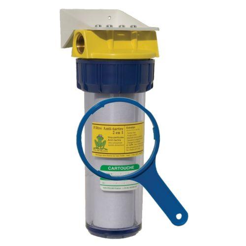 Filtre anti calcaire ou corrosion compact Polar 2 en 1 photo du produit