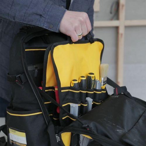Sac à dos porte-outils 28L Fatmax Pro - STANLEY - 1-95-611 pas cher Secondaire 4 L