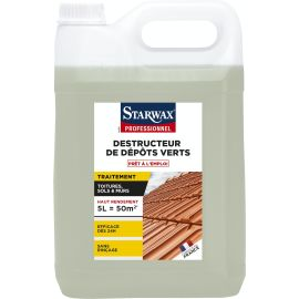 Destructeur de dépôts verts Starwax Pro pas cher