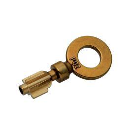 Ebauche de clé PO2 à 5 ailettes sachet de 10 unités. photo du produit