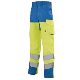 Pantalon de travail fluorescent Lafont VISION 2 IRIS pas cher