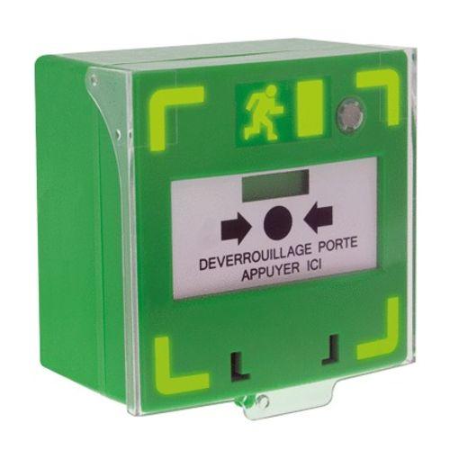 Déclencheur à membrane LEDS rouge/vert avec signal d'état - IZYX - RCP310G pas cher Principale L
