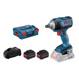 Boulonneuse sans-fil Bosch GDS 18V-300 18 V + 2 batteries 5,5 Ah + chargeur + L-Boxx 136 pas cher Principale M