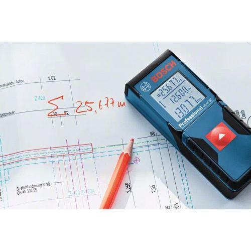 Télémètre GLM 30 Professional en boite carton - BOSCH - 0601072500 pas cher Secondaire 2 L