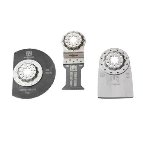 Set de 3 accessoires Fein Starlock Rénovation Spécial planchers photo du produit