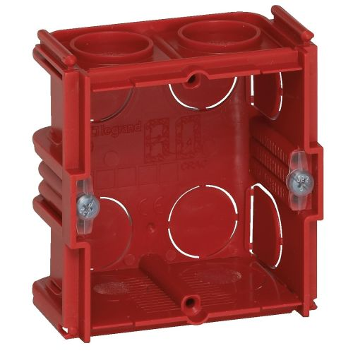 Boîte d'encastrement pour maçonnerie 1 poste 50 mm - LEGRAND - 080151 pas cher Principale L