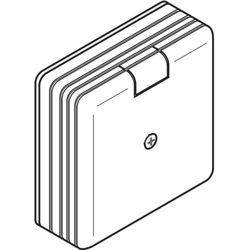 Boitier de dérivation pour AXIS/MS 110X110X55mm REHAU 265686 photo du produit Principale L