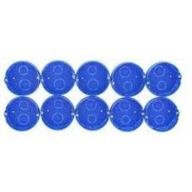 Boîte MODULO D67 à sceller lot 10 bleu photo du produit