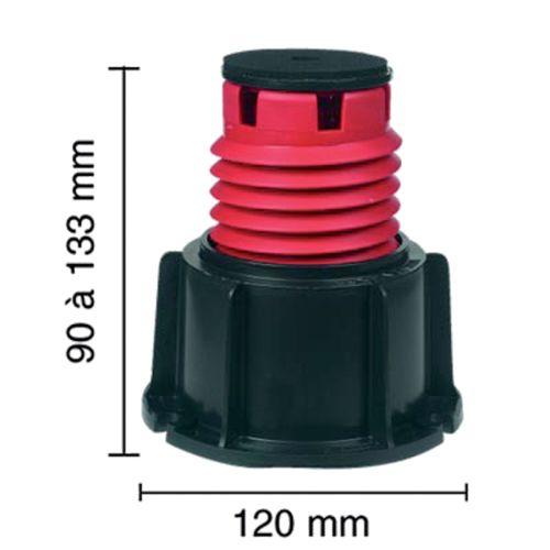 Pieds de receveur (Lazer) photo du produit Principale L