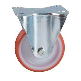 Roulettes AVL polyuréthane rouge photo du produit