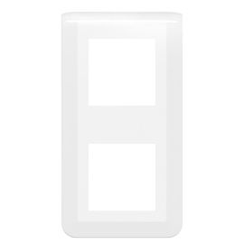 Plaque de finition verticale Mosaic EASYLED  blanc photo du produit