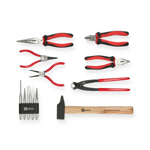 Mallette de 121 outils professionnels - HANGER - 251009 pas cher Secondaire 4 L