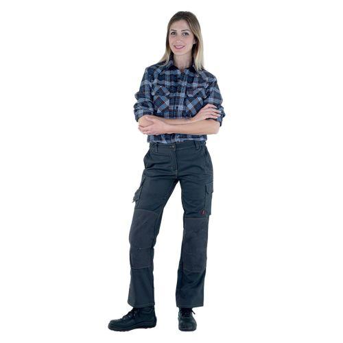 Pantalon de travail femme ITUHA noir taille 4 - LAFONT - LA-1STFCP-4PM-5110-4 pas cher Secondaire 1 L
