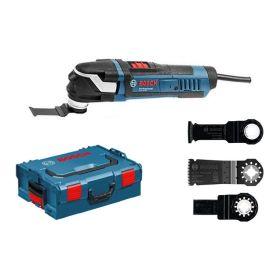Découpeur-ponceur Bosch GOP 40-30 Professional 400 W + L-BOXX + accessoires pas cher