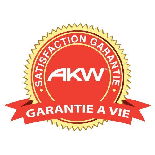 Distributeur papier WC avec couvercle - AKW - 23617 pas cher Secondaire 1 L