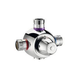 Mitigeur thermostatique centralisé Premix Confort - DELABIE - 731002 pas cher Principale M