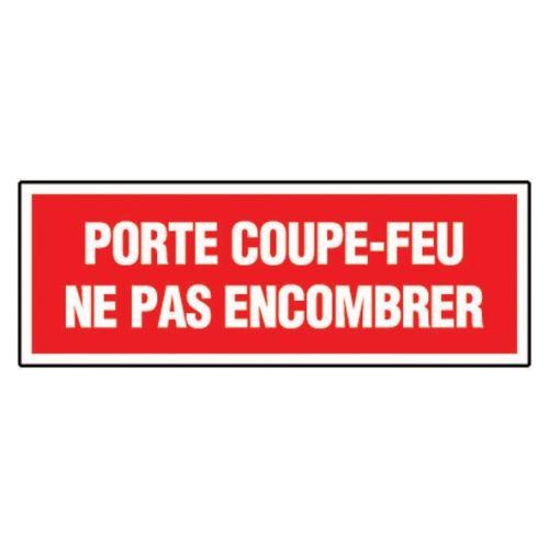 """Panneau """"Porte coupe feu"""" photo du produit Principale L"""
