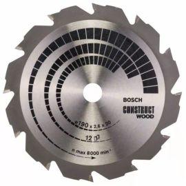 Lames de scie circulaires Bosch Construct Wood pas cher