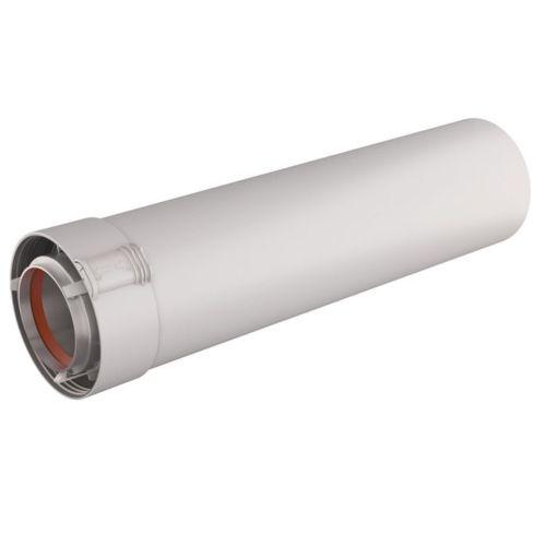 Conduit Ubbink Rolux Gaz diamètre 80/125 mm Alu/PVC photo du produit