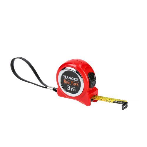 Mètre ruban 3 m x 16 mm 'Red Tape' - HANGER - 100021 pas cher Secondaire 2 L