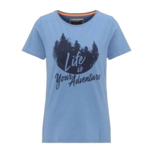 T-shirt à manches courtes pour femme Stihl Life photo du produit