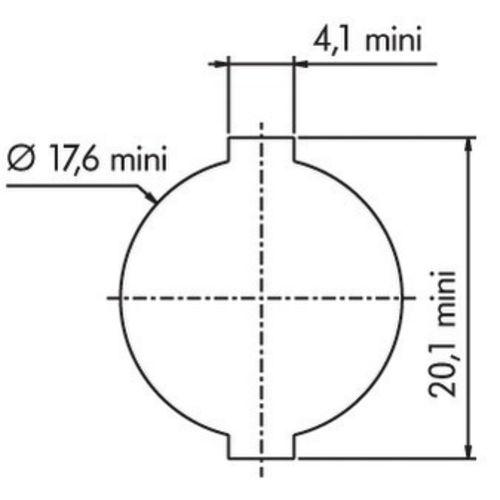 Batteuse type 4900-02 1/2 tour - RONIS - 16006 pas cher