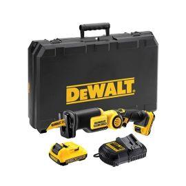 Scie sabre sans-fil XR Dewalt DCS310D2 10,8 V + 2 batteries 2 Ah + chargeur pas cher