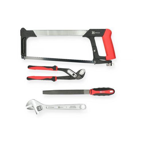 Mallette de 121 outils professionnels - HANGER - 251009 pas cher Secondaire 3 L