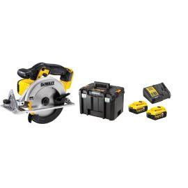 Scie circulaire Dewalt DCS391NT 18 V + 2 batteries DCB115P2 + chargeur DCB115P2 + T-STAK pas cher Principale M