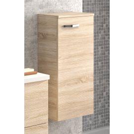 Demi colonne salle de bain L35 x H77 x P35 cm chêne naturel ANGELO photo du produit Principale M