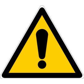 Pictogrammes d'avertissement de danger Novap triangulaires photo du produit
