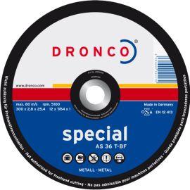 Disque à tronçonner acier Dronco AS 36 T pas cher