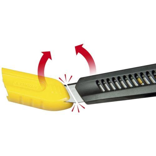 Cutter à lame sécable 18 mm - STANLEY - 0-10-151 pas cher Secondaire 3 L