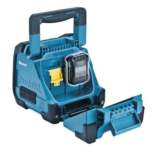 Radio bluetooth 18V double alimentation (machine seule) en boite carton - MAKITA - DMR200 pas cher Secondaire 1 L