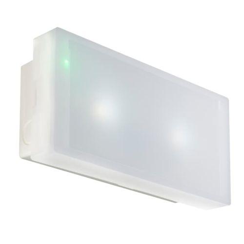 Bloc PRIMO+ 10L LEDS 8LM NP habitation saillie - KAUFEL - 103131k pas cher Secondaire 1 L