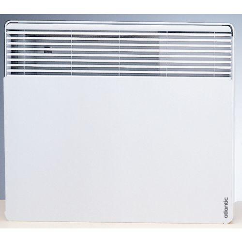 Convecteur électrique F617 horizontal 500W blanc - ATLANTIC -561705 pas cher