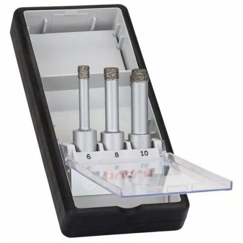 Coffret de forets diamantés Bosch Easy Dry - 3 pièces photo du produit
