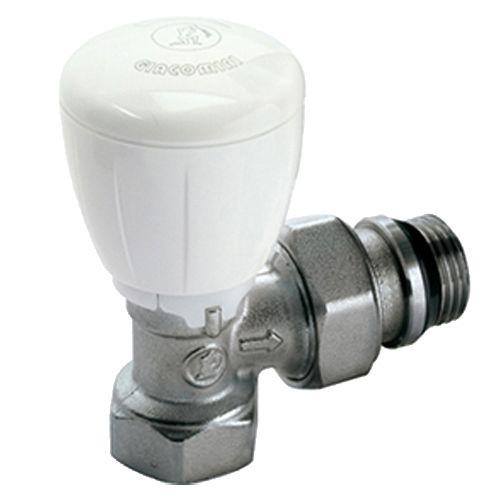 Robinet thermostatisable équerre série fer Giacomini R421TG photo du produit