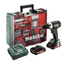 Perceuse-visseuse sans-fil Metabo BS 18 LT Set 18 V + 2 batteries 2 Ah + chargeur + accessoires photo du produit Principale M