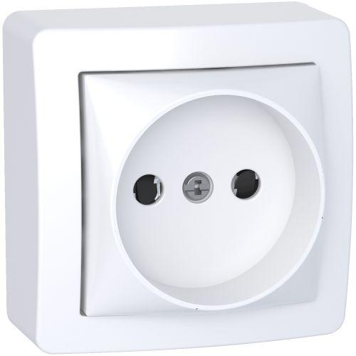 Prise de courant 2P ALREA complet - SCHNEIDER ELECTRIC - SHN0262274P pas cher Principale L